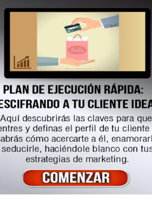 Plan de ejecucion rapida descifrando a tu cliente ideal