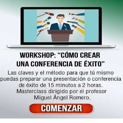 Cómo crear una conferencia de Exito
