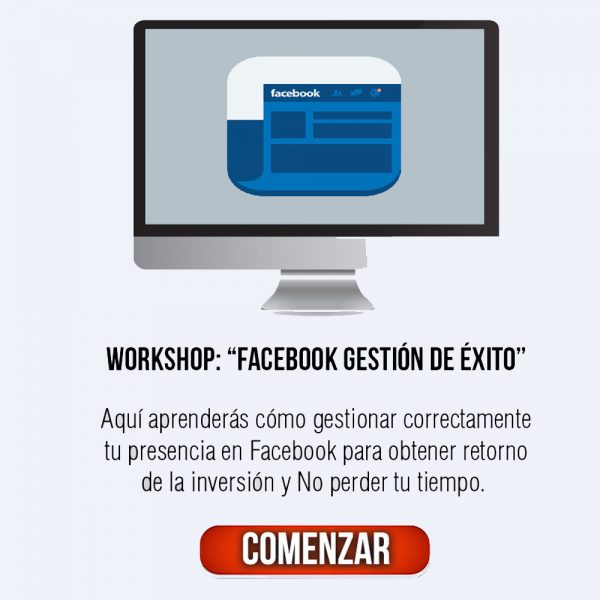 Facebook Gestion de Exito